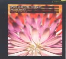 Les Esprits Animaux - Bach, Corrette, Geminiani ... Transfigurations, CD