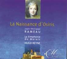 Jean Philippe Rameau (1683-1764): La Naissance d'Osiris ou La Fete Pamilie, CD