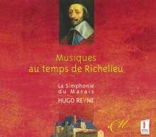 Musiques au temps de Richelieu, 2 CDs