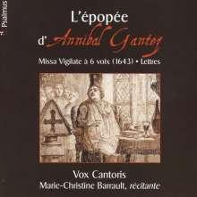 Annibal Gantez (1607-1668): Messe Vigilate a 6, CD