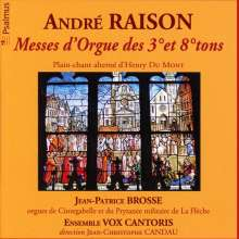 Andre Raison (1640-1719): Orgelmessen im 3. & 8.Ton, 2 CDs