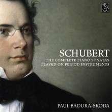 Franz Schubert (1797-1828): Klaviersonaten (Gesamtaufnahme), 9 CDs