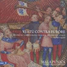 Ensemble Mala Punica - Vertu contra furore, 3 CDs