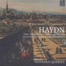 Joseph Haydn (1732-1809): Sämtliche Streichquartette, 19 CDs