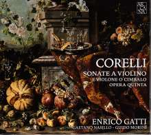 Arcangelo Corelli (1653-1713): Violinsonaten op.5 Nr.1-11, CD