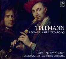 Georg Philipp Telemann (1681-1767): Sonaten für Blockflöte & Bc TWV 41:d3, A5, h5, F3, e11, d4, CD