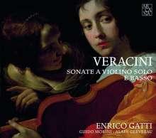 Francesco Maria Veracini (1690-1768): Sonaten für Violine & Bc, CD