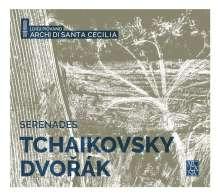 Antonin Dvorak (1841-1904): Serenade für Streicher op. 22, CD