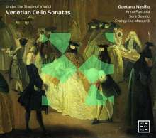 Gaetano Nasillo - Venetian Cello Sonatas, CD