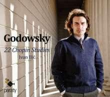 Leopold Godowsky (1870-1938): 22 Studien über die Etüden von Chopin, CD