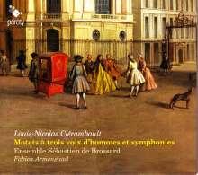Louis-Nicolas Clerambault (1676-1749): Motets a Trois Voix d'Hommes & Symphonies, CD