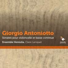 Giorgio Antoniotto (1681-1766): Sonaten für Cello & Bc Nr. 2-6,10,11, CD