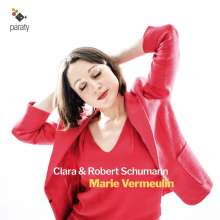 Marie Vermeulin - Clara & Robert Schumann, CD