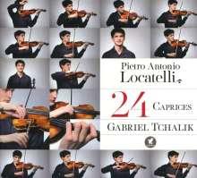 Pietro Locatelli (1695-1764): Capriccios op.3 Nr.1-24 für Violine solo, CD