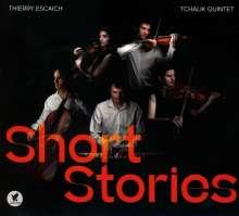 """Thierry Escaich (geb. 1965): Kammermusik mit Streichern """"Short Stories"""", CD"""