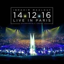 Ibrahim Maalouf (geb. 1980): 14.12.16 Live In Paris, 2 CDs und 1 DVD