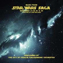 Filmmusik: Music From Star Wars Saga, 2 LPs