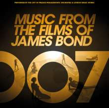 Filmmusik: Music From The Films Of James Bond (Limited Handnumbered Edition), 2 LPs