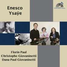 George Enescu (1881-1955): Sonate für Violine & Klavier Nr.2, CD
