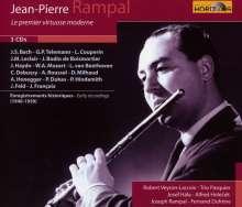 Jean-Pierre Rampal  - Le Premiere Virtuose Moderne, 3 CDs
