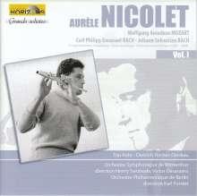 Aurele Nicolet spielt Flötenkonzerte, CD