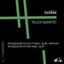 """Antonin Dvorak (1841-1904): Streichquartett Nr.12 """"Amerikanisches"""", CD"""