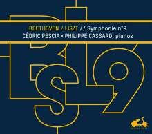 Ludwig van Beethoven (1770-1827): Symphonie Nr. 9 (für 2 Klaviere von Liszt), CD