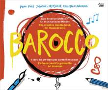 Barocco (Ein Malbuch mit CD für Kinder), CD