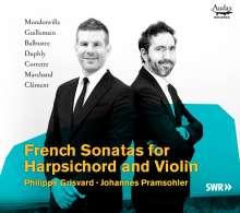 Johannes Pramsohler & Philippe Grisvard - French Sonatas for Harpsichord and Violin, 2 CDs