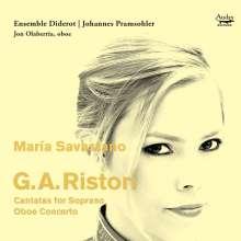 Giovanni Alberto Ristori (1692-1753): Kantaten für Sopran & Orchester, CD