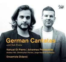 Deutsche Kantaten mit Solo-Violine, CD
