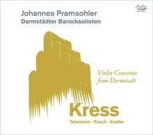 Violinkonzerte aus Darmstadt, CD
