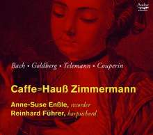Anne-Suse Enßle - Caffe-Hauß Zimmermann (Werke für Blockflöte & Cembalo), CD