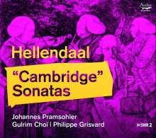 Pieter Hellendaal (1721-1799): Cambridge-Sonaten Nr. 1-6 für Violine & Bc, CD