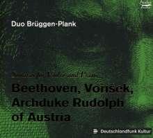Duo Brüggen-Plank - Sonaten für Violine & Klavier, CD