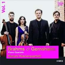 Friedrich Gernsheim (1839-1916): Klavierquartett c-moll op.20, CD