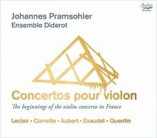Concertos pour Violon - The Beginnings of the Violin Concerto in France, CD