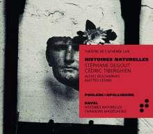 Francis Poulenc (1899-1963): Lieder - Melodies sur des Poemes de Guillaume Apollinarie, CD