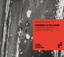 Stephane Degout - Poemes D'Un Jour, CD