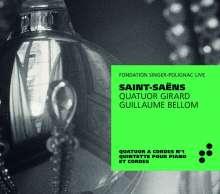 Camille Saint-Saens (1835-1921): Klavierquintett op.14, CD