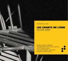 Olivier Greif (1950-2000): Chants de L'Ame, CD