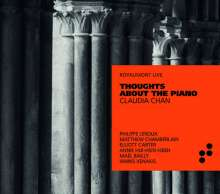Claudia Chan - Thoughts abuout the Piano, CD