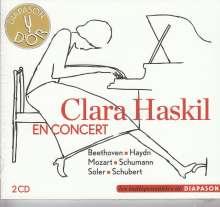Clara Haskil en Concert, 2 CDs