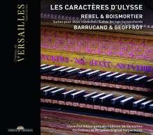 "Jean-Fery Rebel (1666-1747): Suiten für 2 Cembali ""Les Caracteres d'Ulysse"", CD"