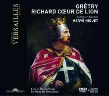 Andre Modeste Gretry (1741-1813): Richard Coeur de Lion, 1 DVD und 1 CD