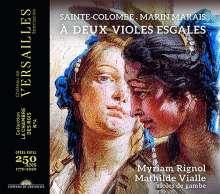 Suites a deux Violes esgales, CD
