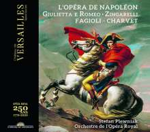 Nicolo Zingarelli (1752-1837): Giulietta & Romeo, 1 CD und 1 DVD