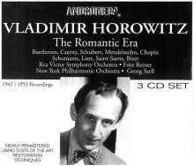 Vladimir Horowitz - The Romantic Era, 3 CDs