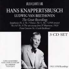 Ludwig van Beethoven (1770-1827): Symphonien Nr.2,3,5,7,8, 3 CDs