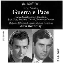 Serge Prokofieff (1891-1953): Krieg und Frieden op.91 (in ital.Spr.), 2 CDs